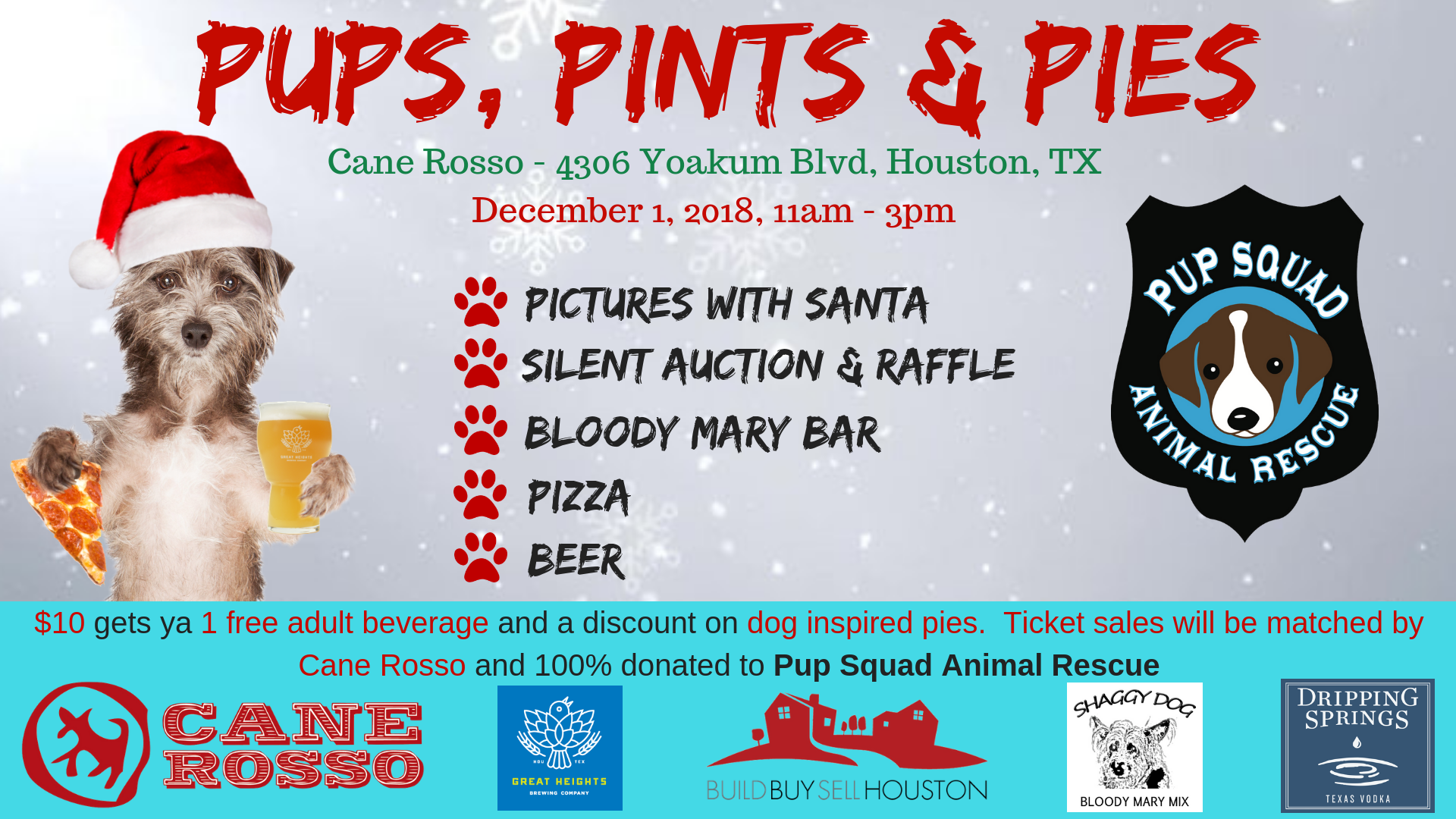 Puppies, Pints & Pies