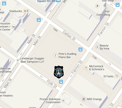 Map of Pup Squad at GreenStreet